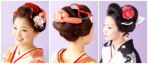 传统日本风发型