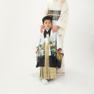 五岁男童袴