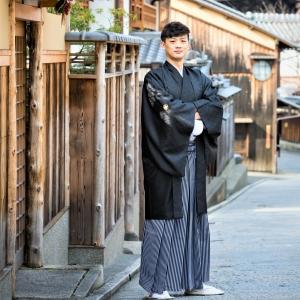 白金纹付袴