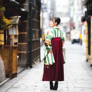 二尺袖和服袴